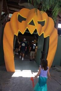 Spooky Hallow entrance