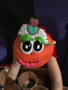 My niece's pumpkin creation