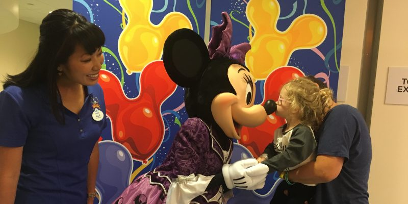 Minnie Mouse Brings Smiles to CHOC Children's Hospital