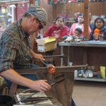 knott's merry farm glass blower