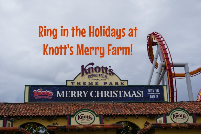 knotts merry farm signage