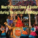 Meet Princess Elena of Avalor during the Festival of Holidays!