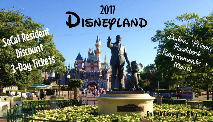 2017 Disneyland Southern California Resident Discount Tickets: Everything you need to know