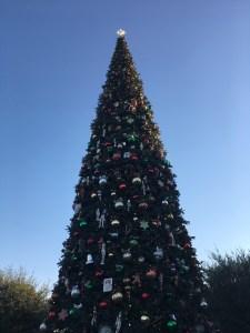 The 60-foot Christmas tree