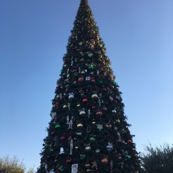 The 60-foot Christmas tree