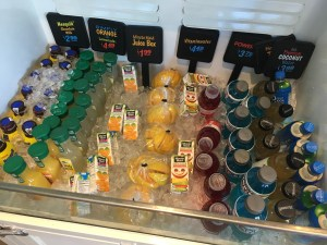 Beverages - juices, coconut water and more!