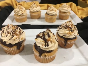 Specialty peanut butter cupcakes