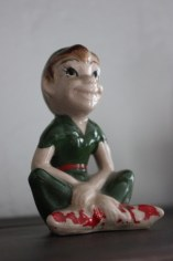 Vintage Peter Pan figurine