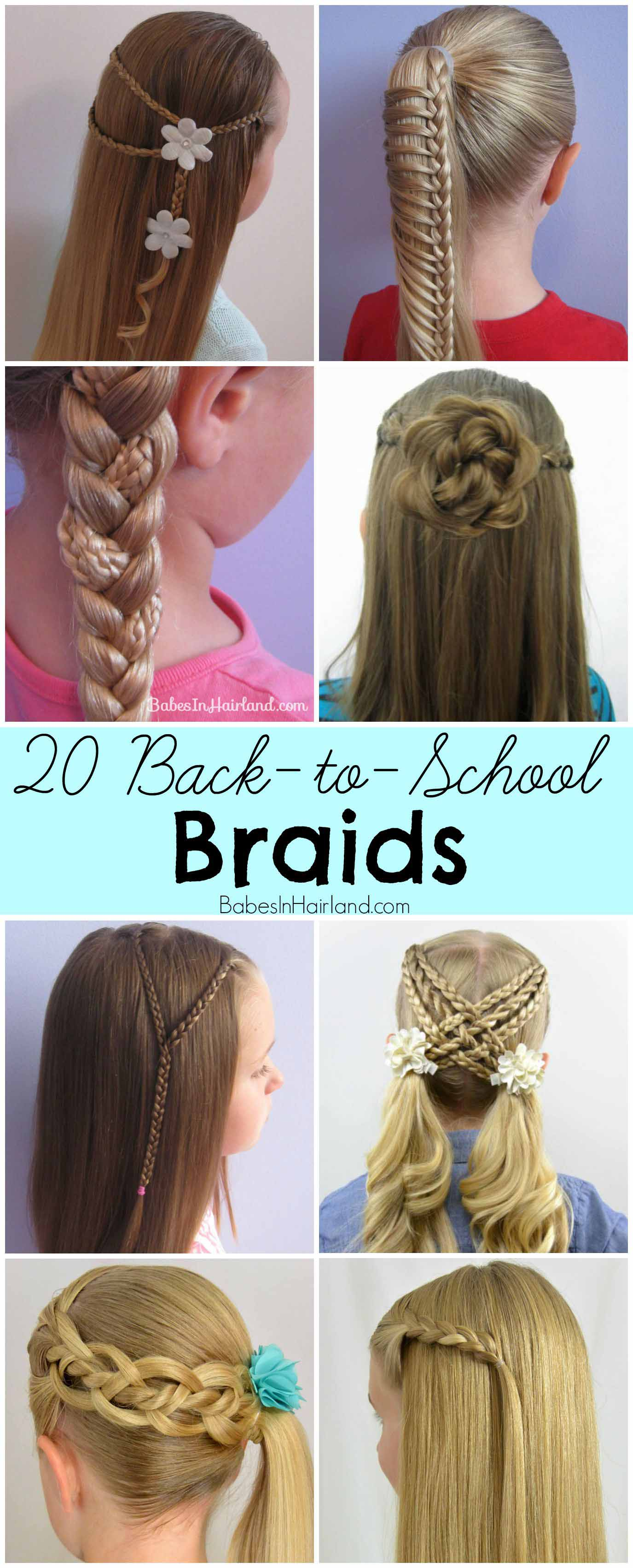 20 Back-to-School Braids - Babes In Hairland