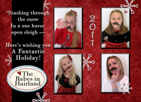 2011 Mustache Christmas Card (1)