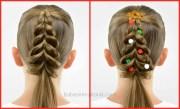 christmas tree pull- braid
