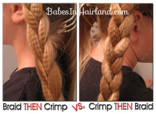 Crimped Braids