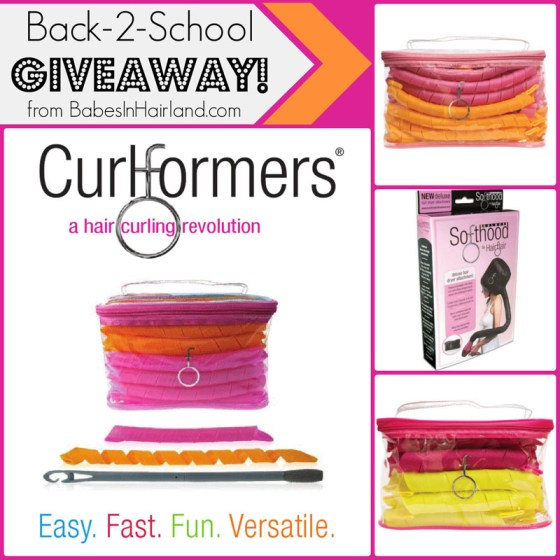 Back-2-School CurlformersCoCurlformers Giveaway from BabesInHairland.com
