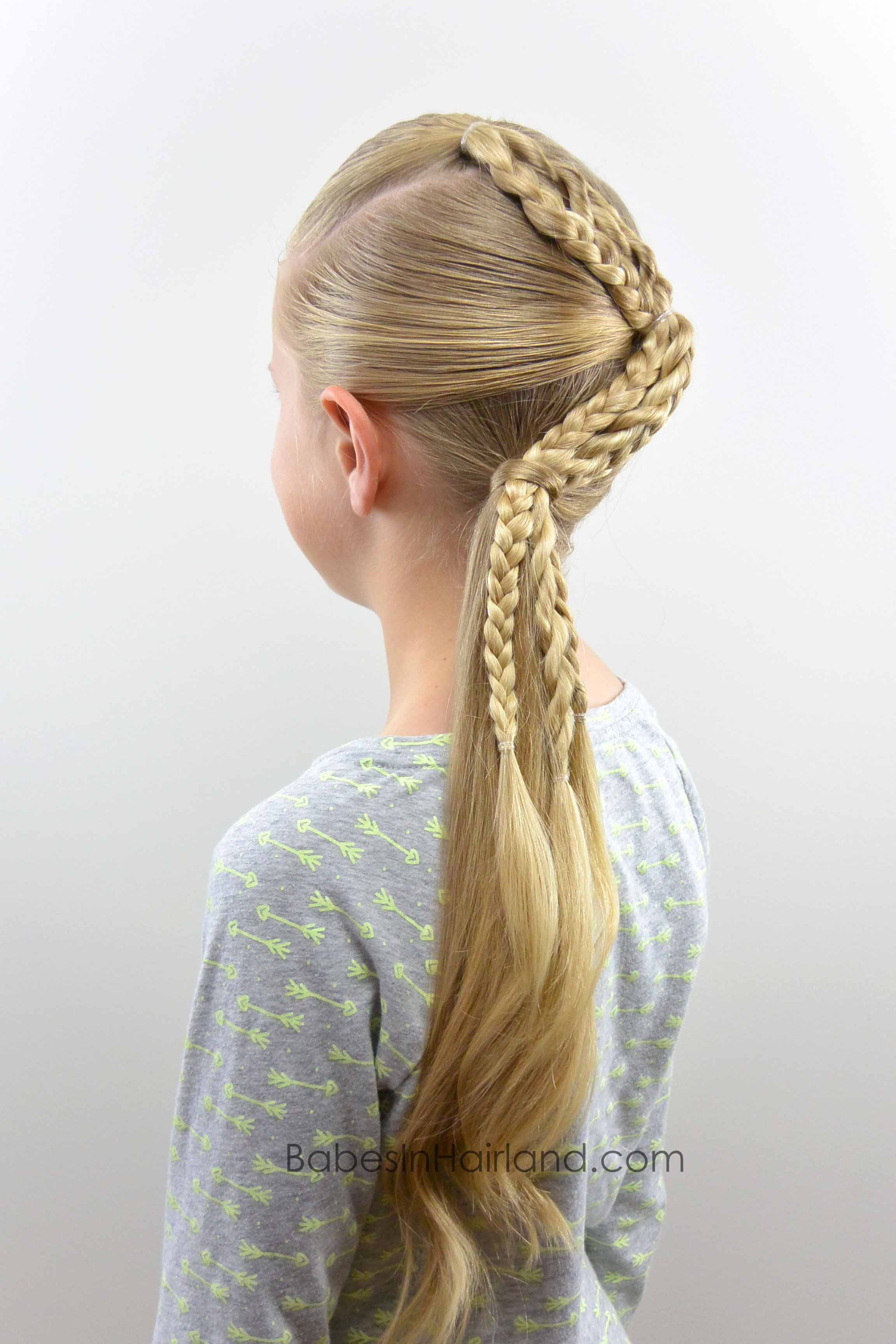 Zig Zag Braids Babes In Hairland
