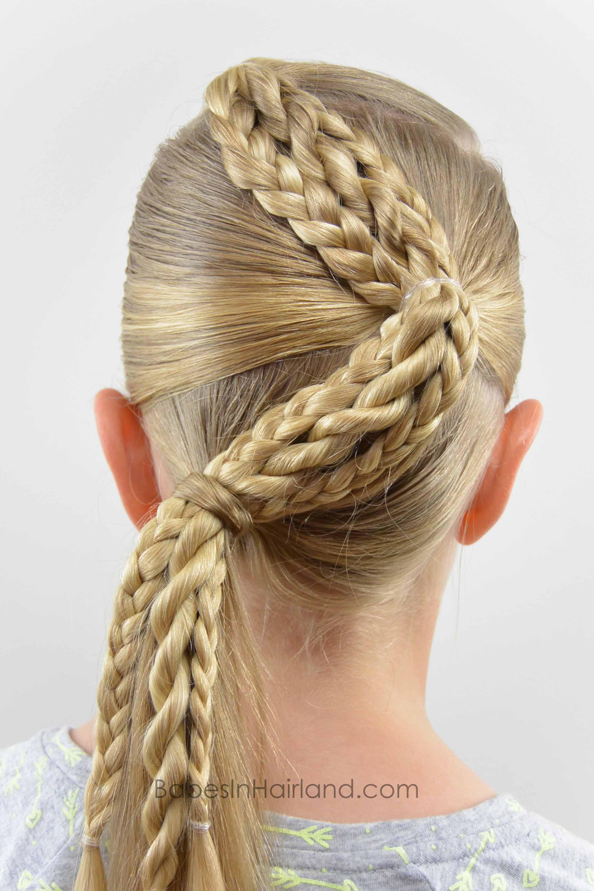 zig zag braids - babes in hairland