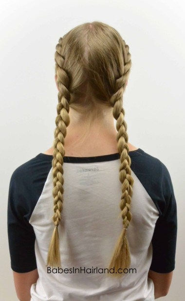 How to: Tight Dutch Braids on Yourself from BabesInHairland.com #dutchbraid #frenchbraid #hair #hairstyle