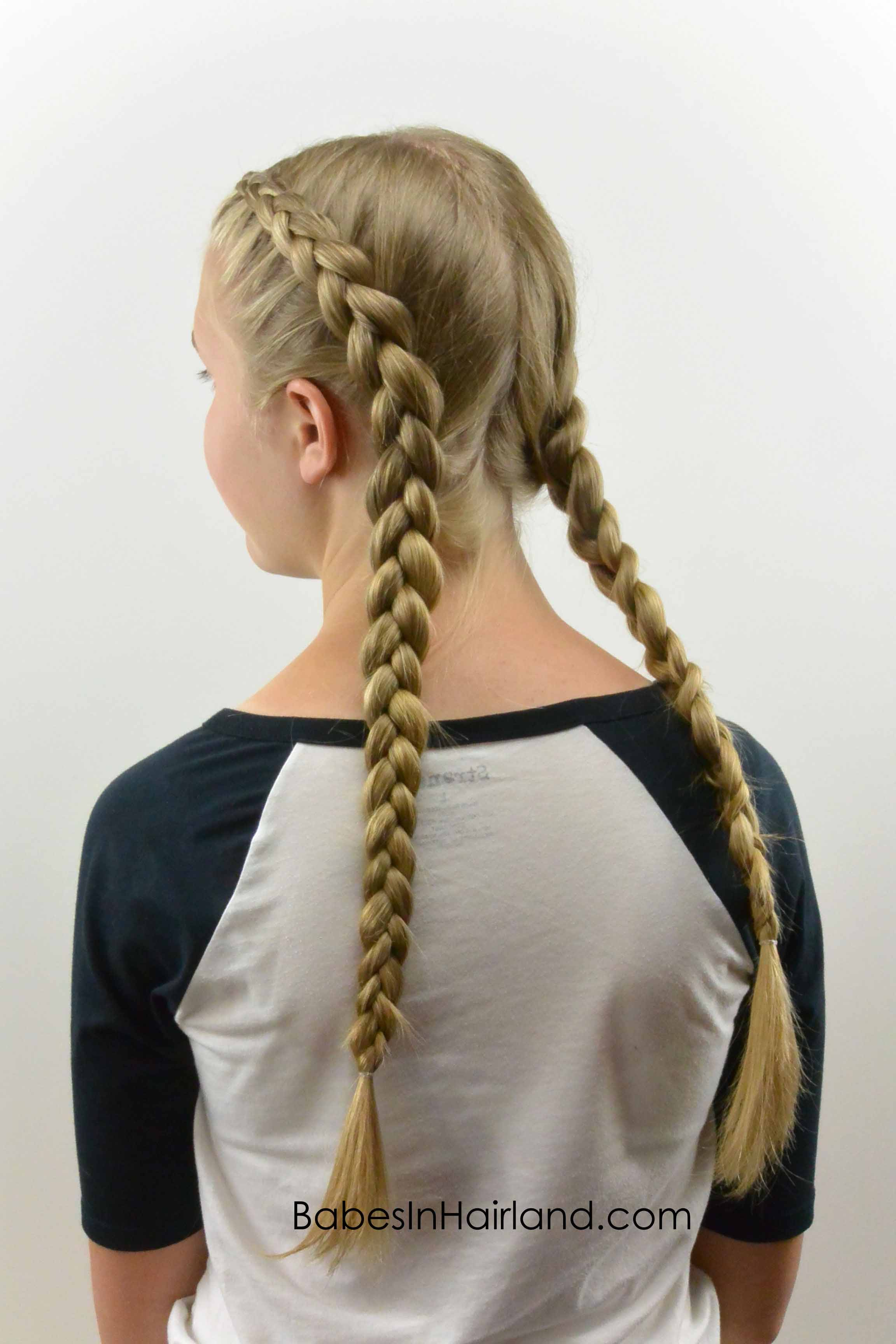 How To: Tight Dutch Braids On Yourself From Babesinhairland #dutchbraid  #frenchbraid