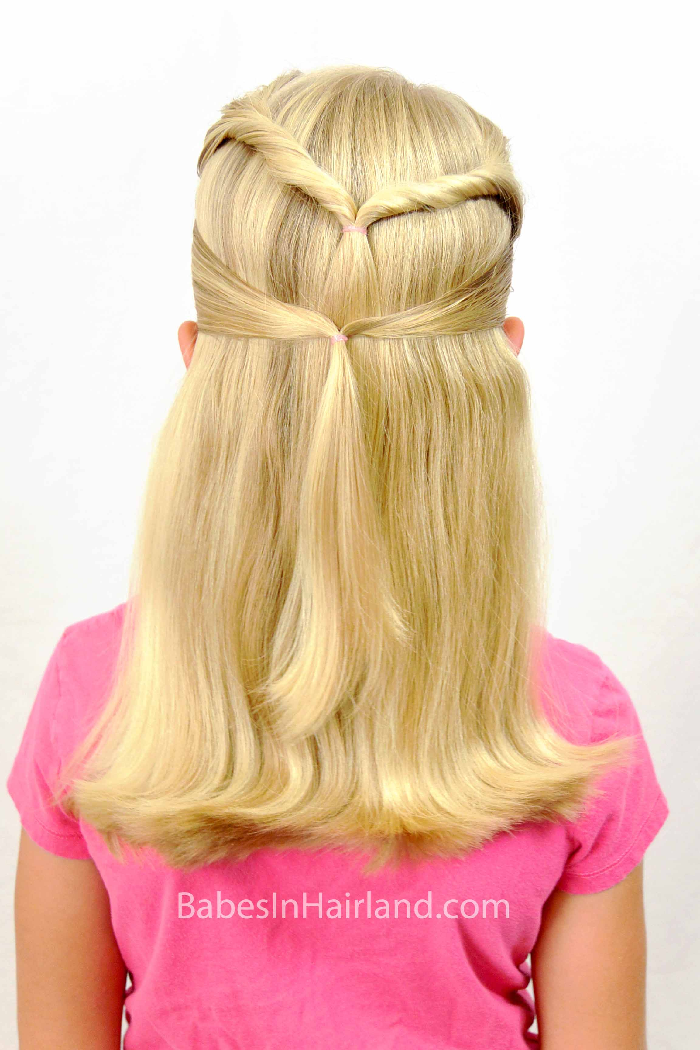 quick & easy -school hairstyle