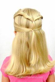 quick & easy -school hairstyle