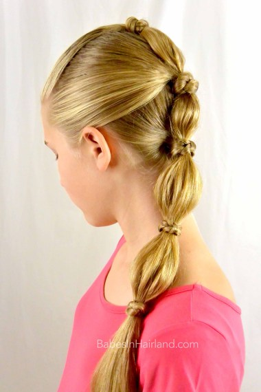 out hair styles quot knotty quot ponytail in hairland 2430