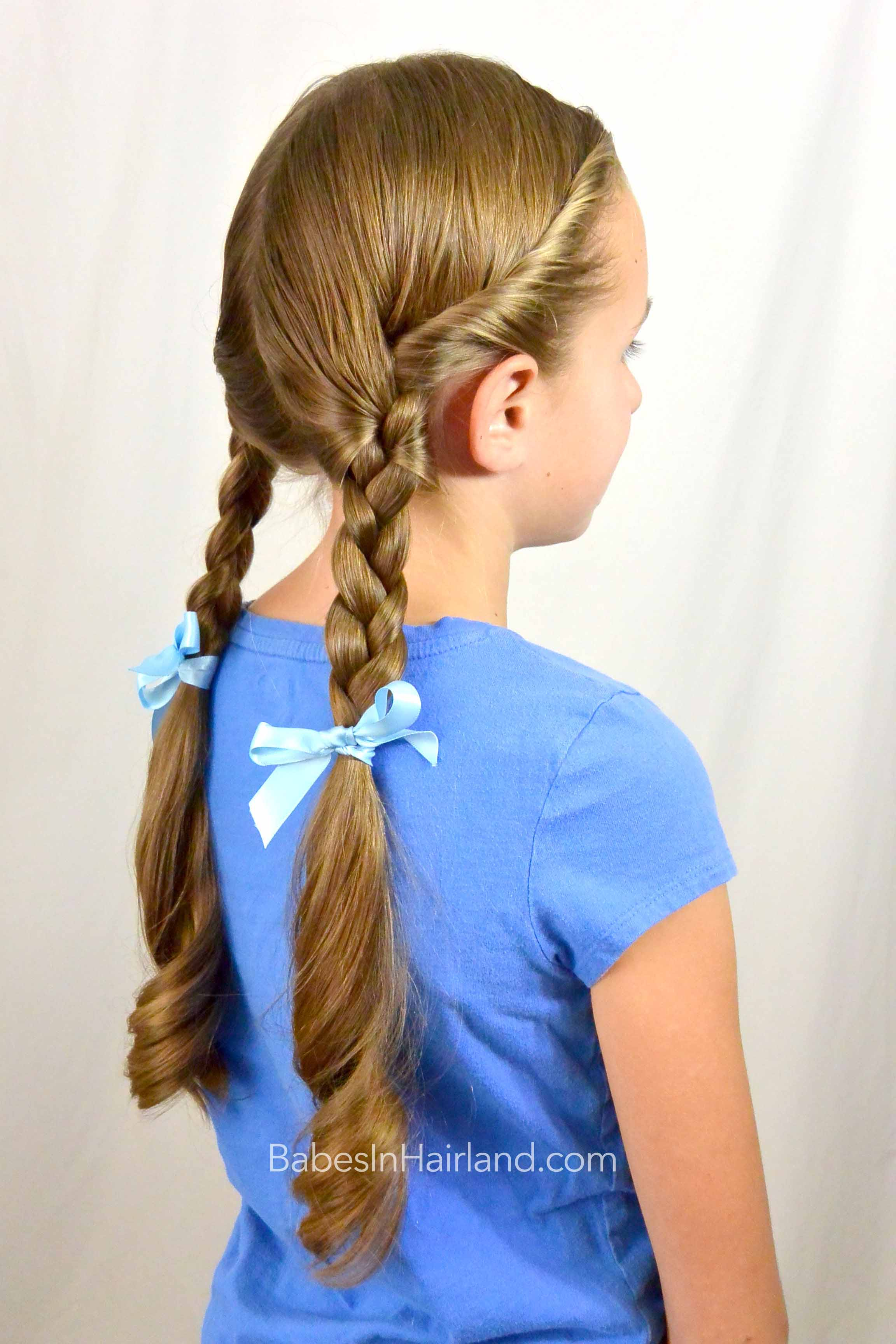 Dorothy Gale Braids Halloween Hairstyle Babes In Hairland