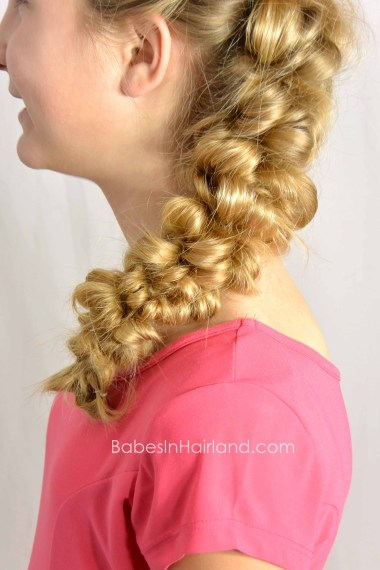 Messy Side Swept Faux-Hawk from BabesInHairland.com #fauxhawk #hair #hairstyle #tutorial #beauty