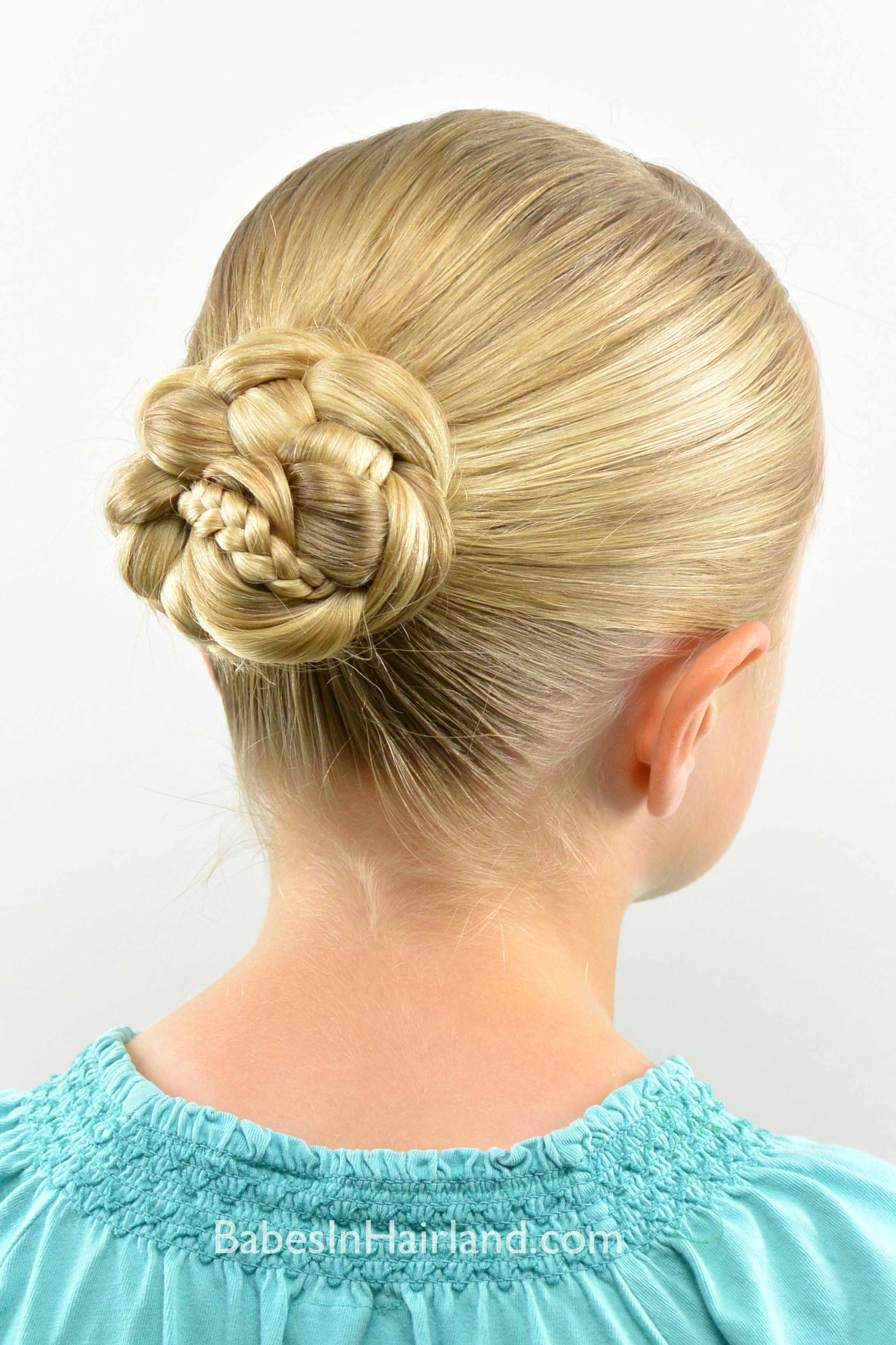 Micro Braid Striped Bun Back To School Style Babes In