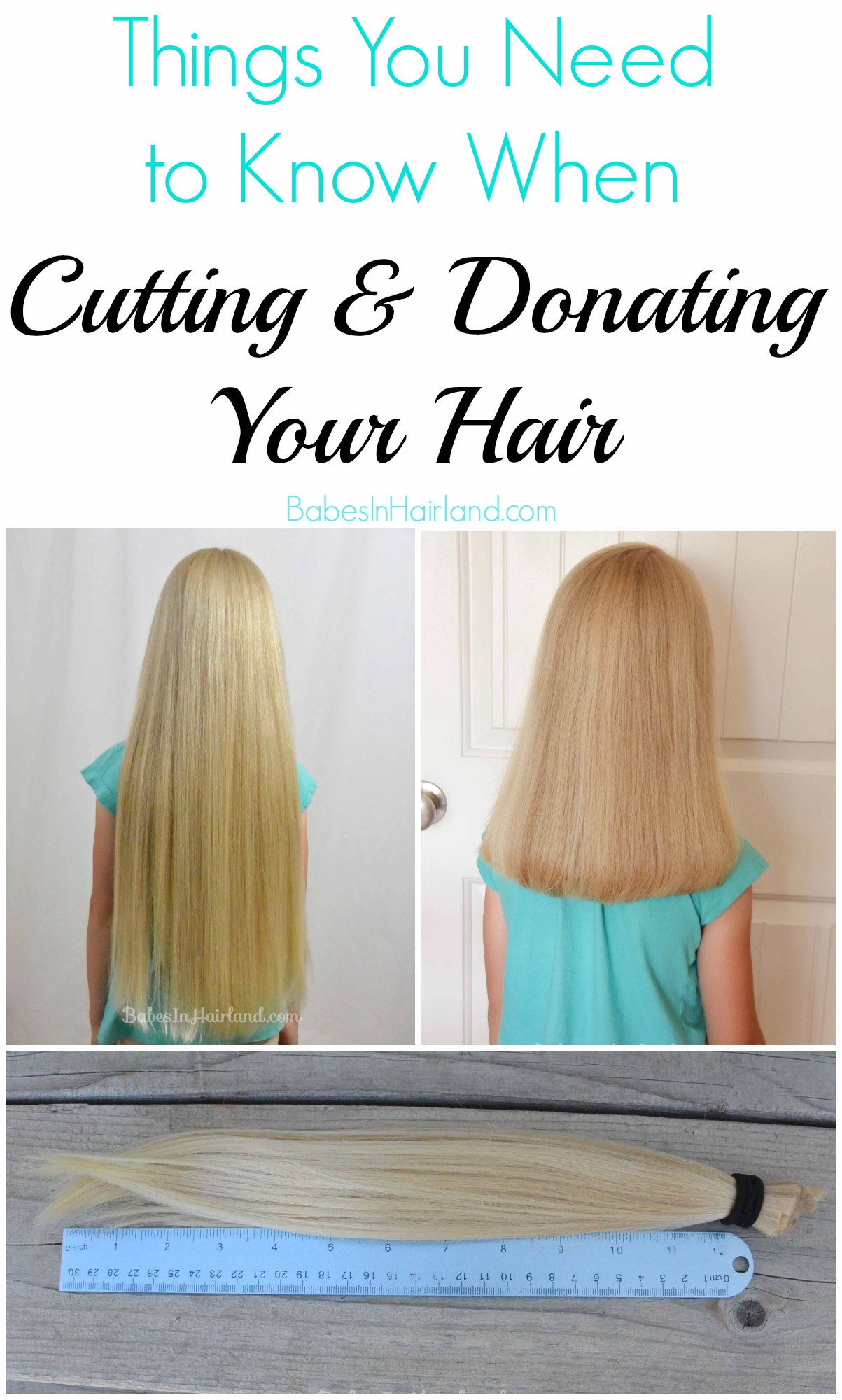 Things you need to know when cutting donating your hair for A little off the top salon