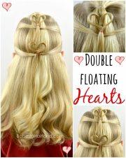 double floating heartss valentine's