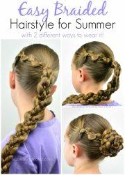 easy braided style summer