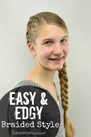 easy & edgy braided style teen