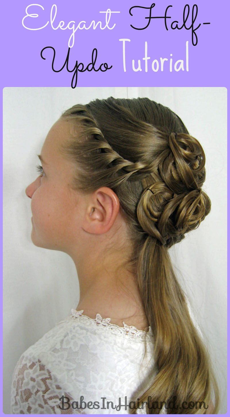updo's occasion - babes