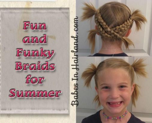 Fun & Funky Criss Cross Braids for Summer (1)