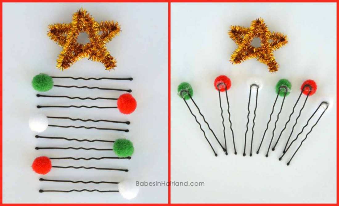 Hair Christmas Tree Decorations ~N