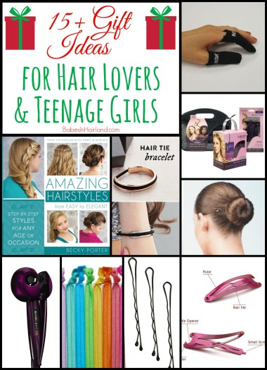 Gift Ideas for Hair Lovers or Teenage Girls from BabesInHairland.com #Christmas #giftideas #gift #present #hair