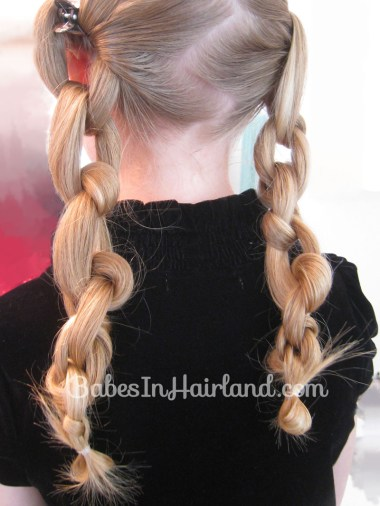 Chunky Knot Milkmaid Braids - BabesInHairland.com (8)