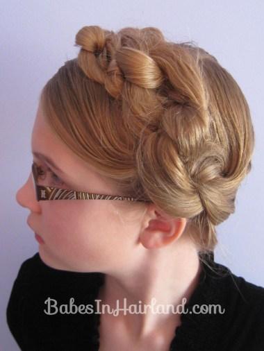 Chunky Knot Milkmaid Braids - BabesInHairland.com (14)