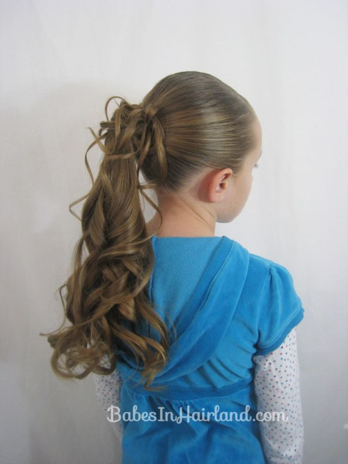 Dressed Up Ponytail from BabesInHairland.com