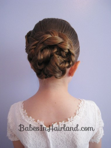 Braid & Knotted Bun Updo from BabesInHairland.com (16)