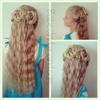 Triple Twisted Half Updo from BabesInHairland.com (1)