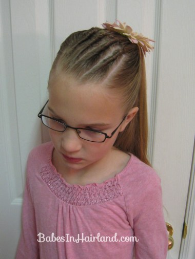 Cornrows and Half Ponytail (1)
