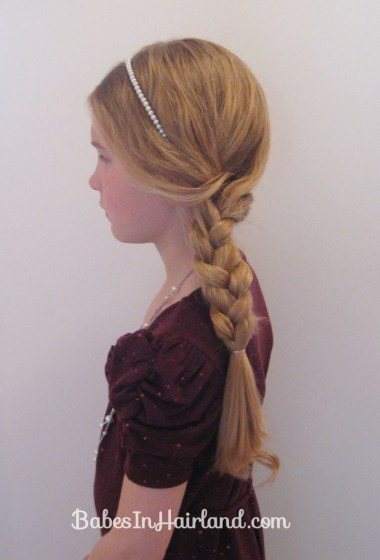 Slightly Messy Loose Side Braid (15)