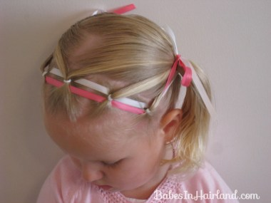 Ponies & Ribbon Hairstyle (1)
