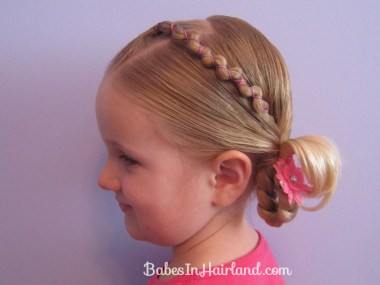 Rubber Band Wraps & Flipped Braids (12)