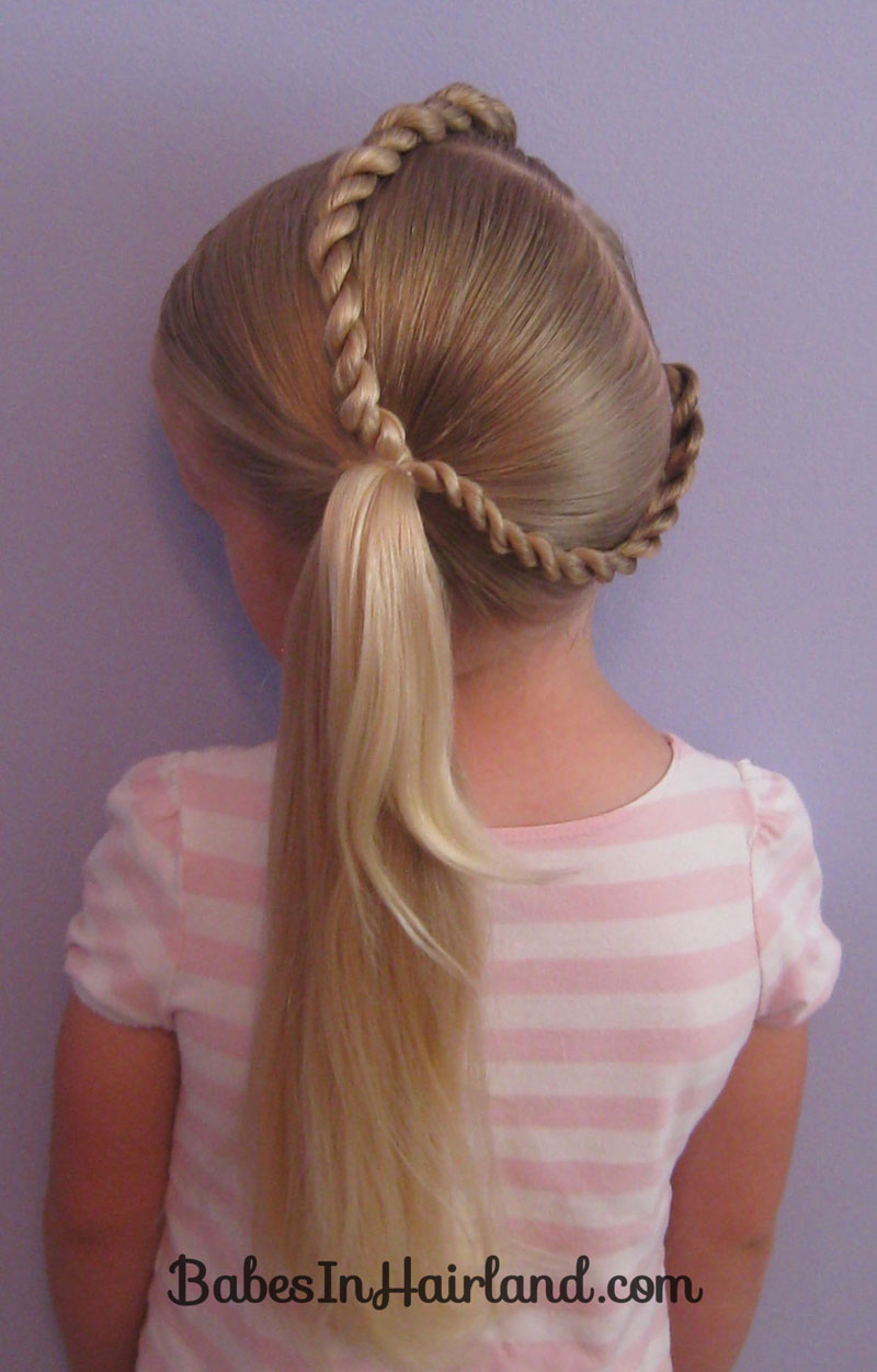 pony tail hair styles letter c hairstyle in hairland 2175 | IMG 2175M