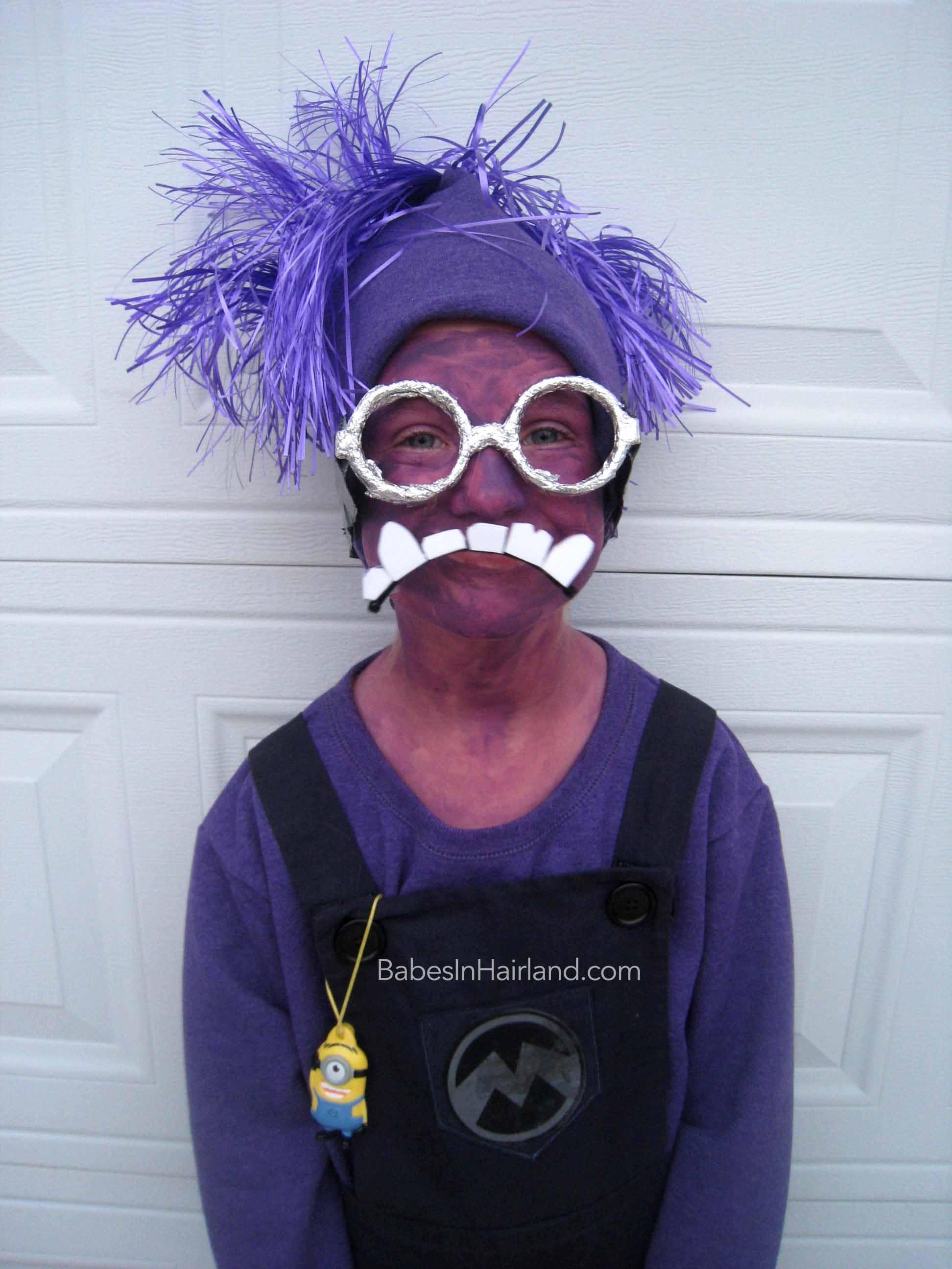 how to make a purple minion halloween costume