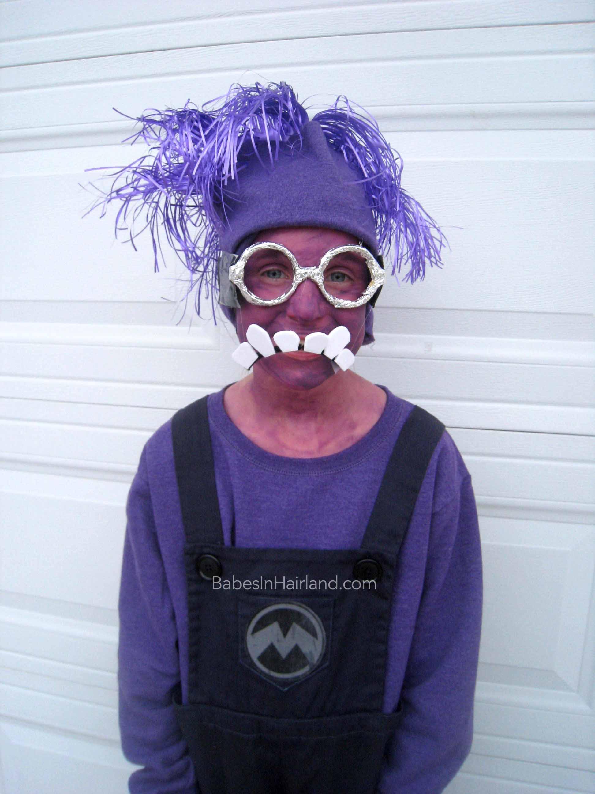 Wonderful Purple Minion Halloween Costumes - Babes In Hairland DJ57