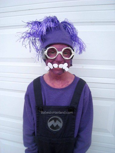 Evil Purple Minion Costume from BabesInHairland.com