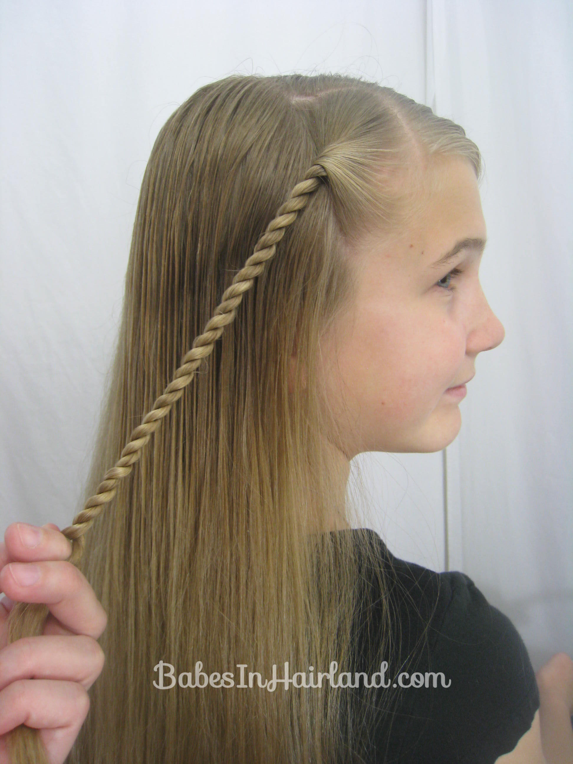 Rope Braid Hairstyle Babes In Hairland