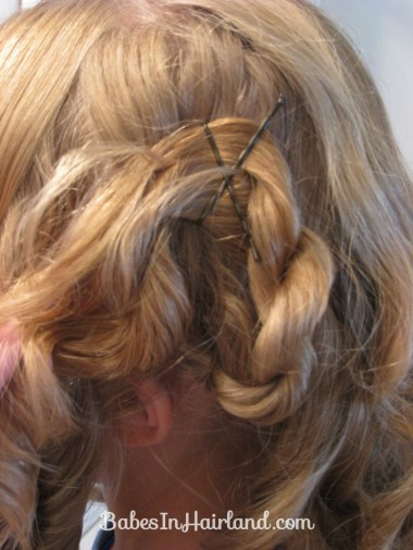 Cascading Pinned Up Curls (4)